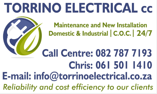 Torrino Electrical Sign 1 1