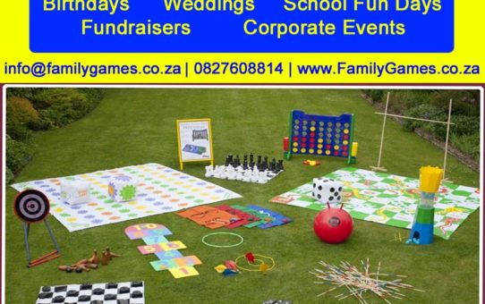 Family Games -Entertainment For Everyone For Every Event