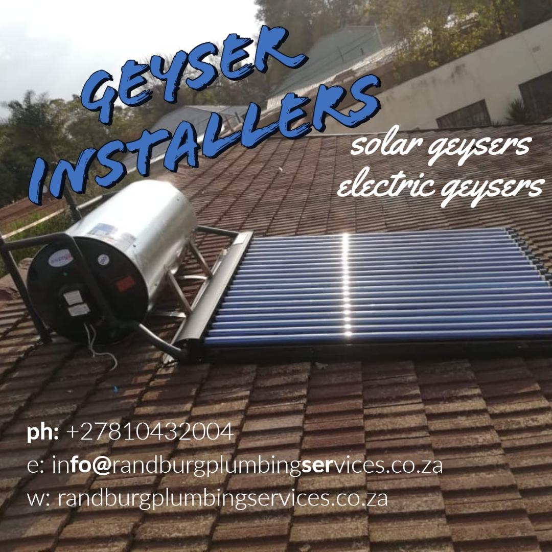 Geyser Installers Instagram