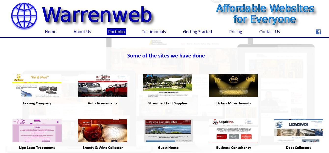 Portfolio Page