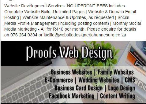 Proofs Web Design