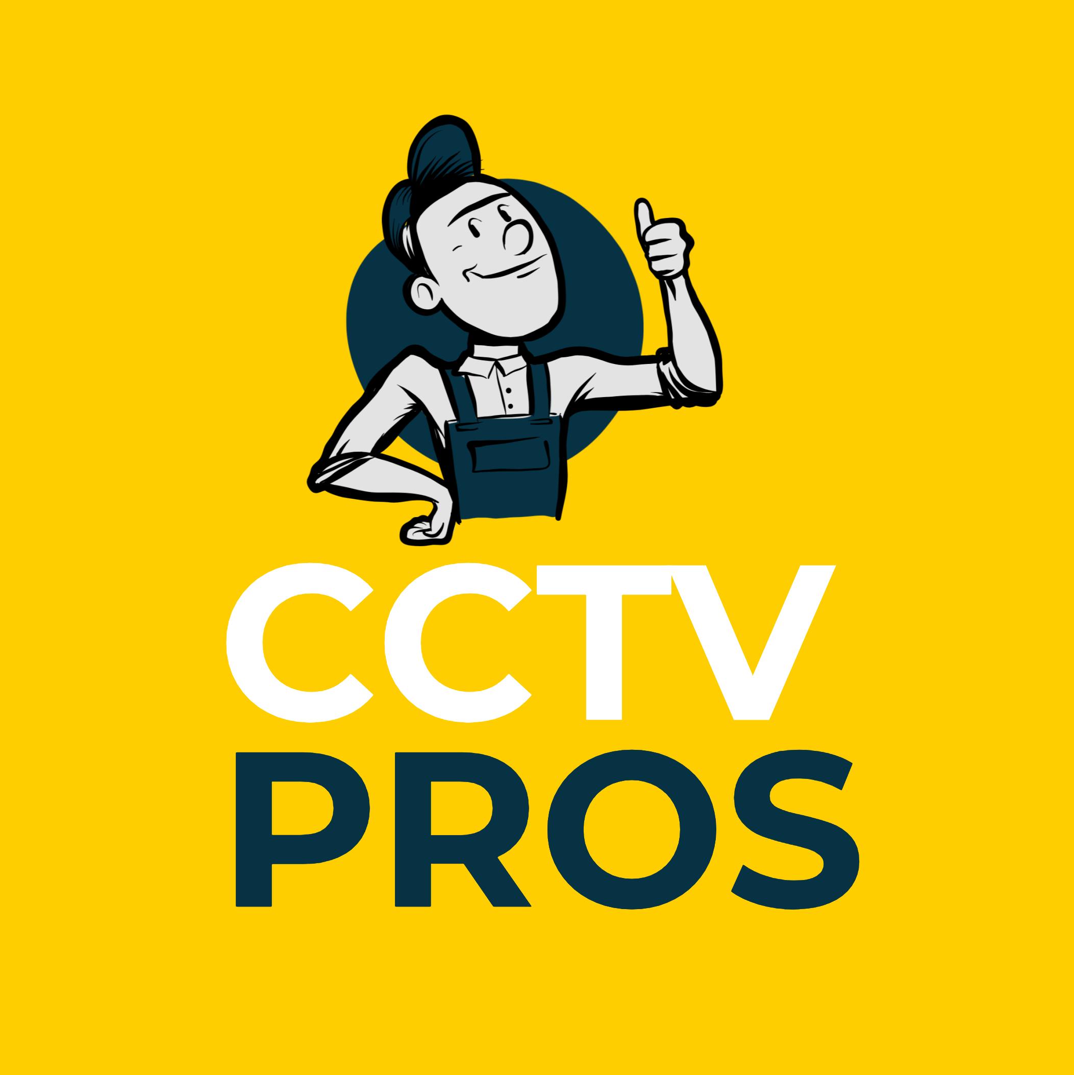 CCTV Pros – CCTV Pros Square- Yellow BG