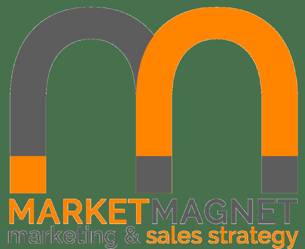 New Market Magnet Logo